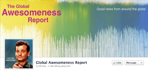 Global Awesomeness Report FB Page